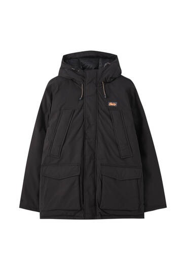 3M parka med mesh-for