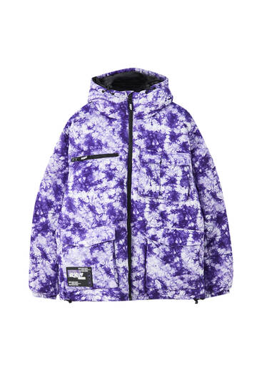 Sicko19 Sickonineteen tie-dye Thinsulate jacket