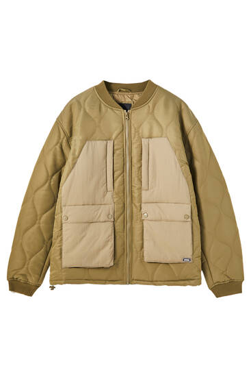 Utility bomber jacket