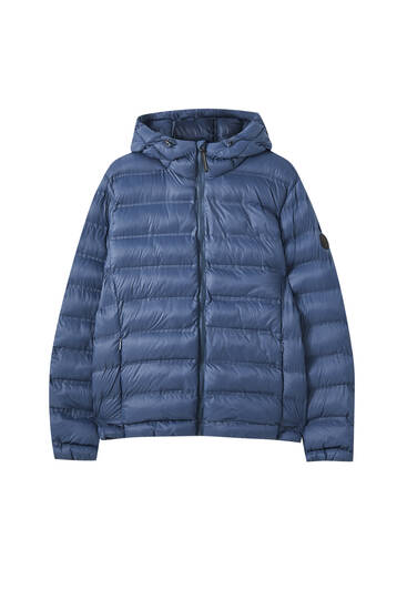 Basic lightweight puffer jacket