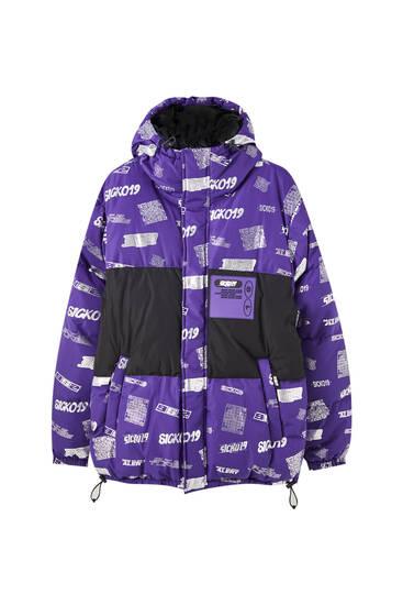 Sicko19 Sickonineteen Scotchgard 3M puffer jacket
