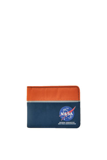 NASA contrast wallet
