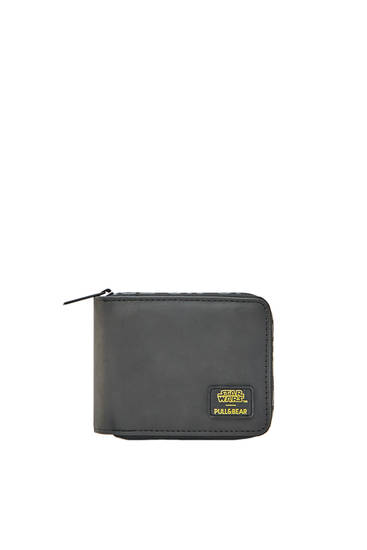 Black STAR WARS wallet