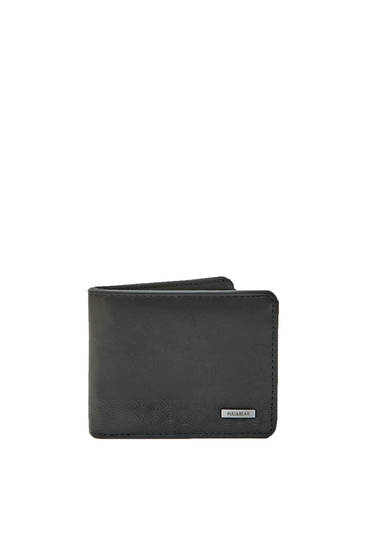 Kontrast siyah cüzdan