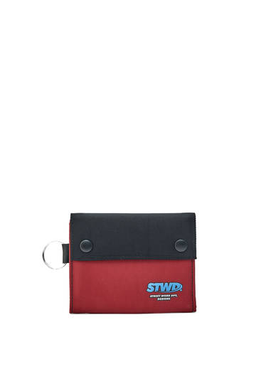Snap-button STWD wallet