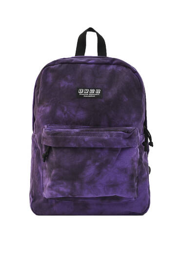 Tie-dye STWD backpack