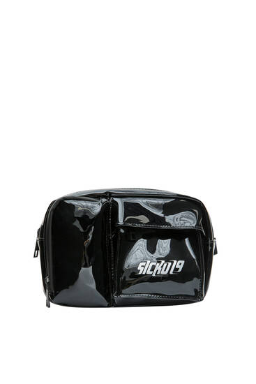 Black Sicko19 Sickonineteen chest bag