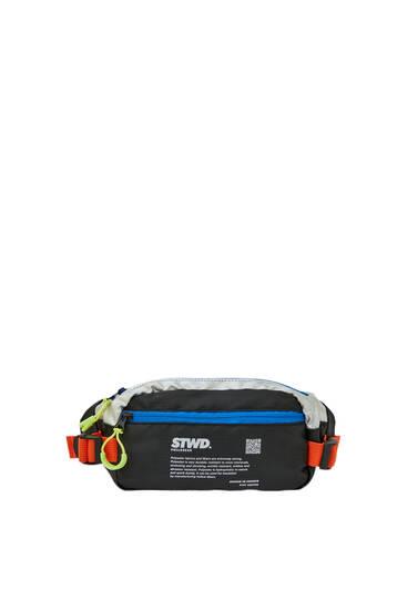 Поясная сумка STWD с контрастной отделкой