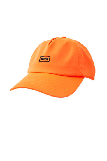 Basecap in Neonorange STWD