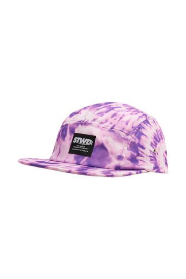 STWD purple tie-dye cap