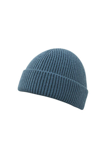 Fisherman fabric beanie