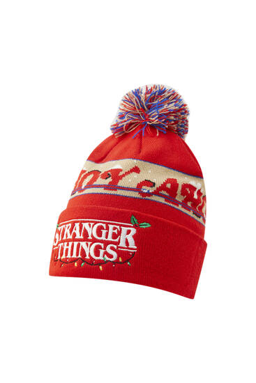 Stranger Things Christmas beanie