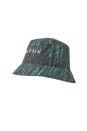 The Matrix bucket hat