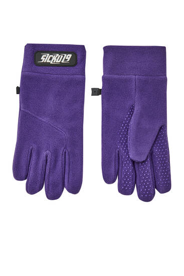 Sicko19 Sickonineteen fleece gloves
