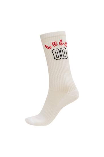 Sicko19 Sickonineteen by Lunay sports socks