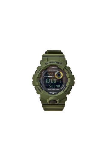 Green G-Shock watch