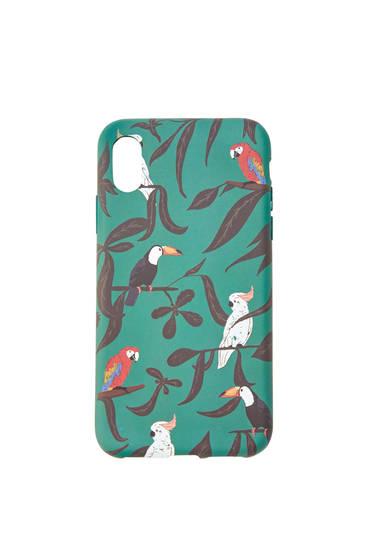 Bird print smartphone case