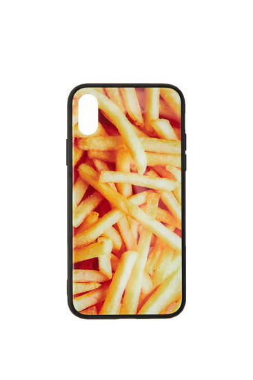 French fries smartphone case
