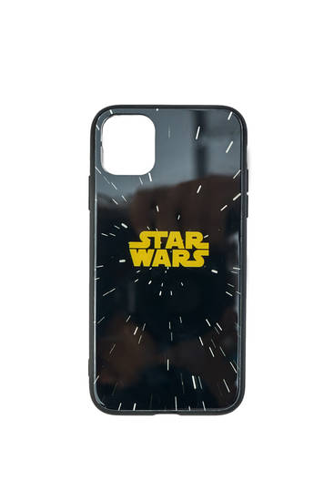 Black Star Wars smartphone case