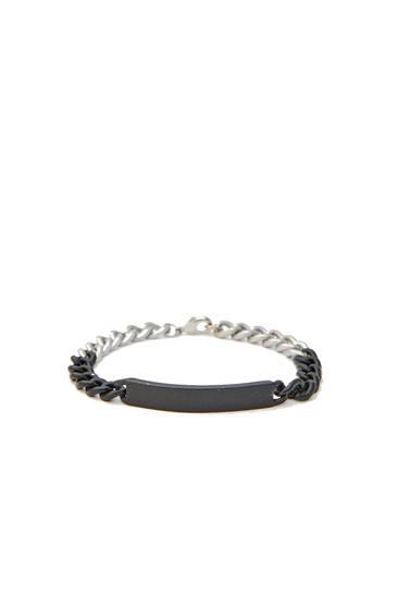 Ombré link bracelet