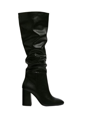 High heel over-the-knee boots