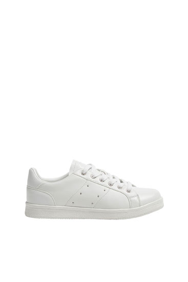 Trainers with stud details