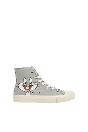Wysokie buty sportowe Looney Tunes