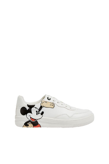 Mickey Mouse sneakers - pull\u0026bear
