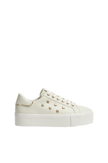 Chunky trainers with star details