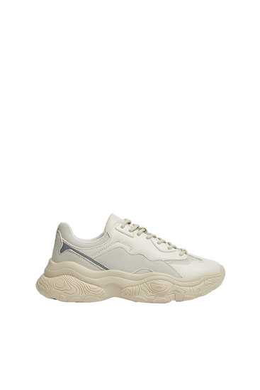 STWD chunky sole trainers