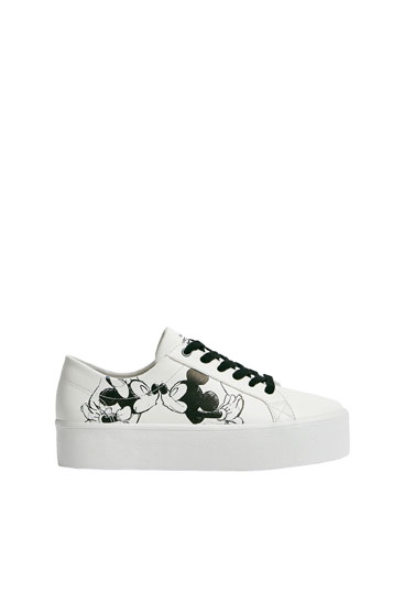 Mickey Mouse chunky trainers