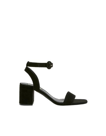Sandàlies negres