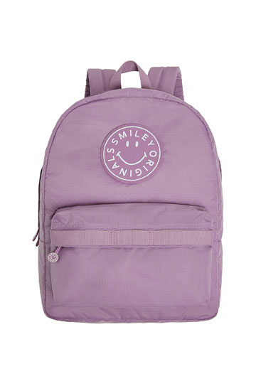 Smiley logo backpack