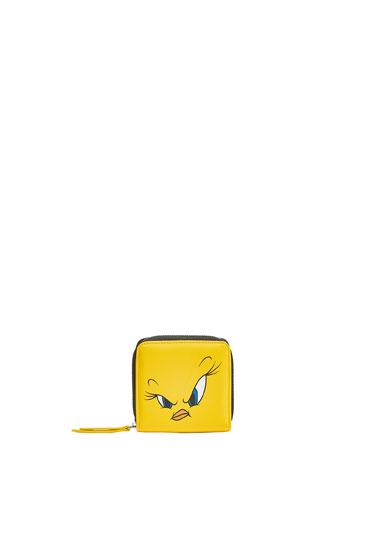 Monedero tarjetero Looney Tunes