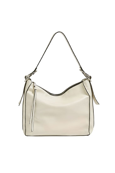 Soft white bag