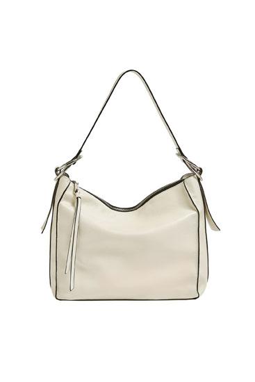 Soft white bag