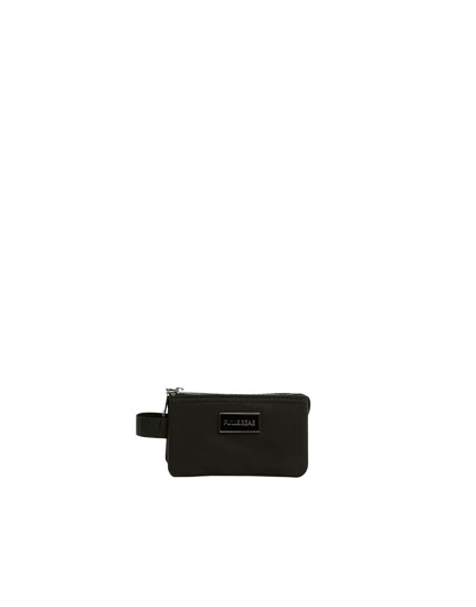 Mini black wallet