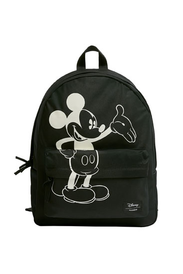 Black Mickey Mouse backpack