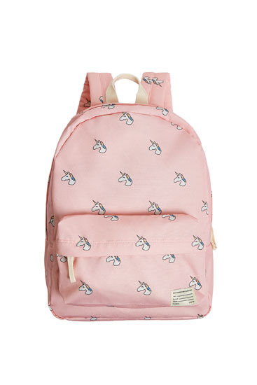 Unicorn detail backpack
