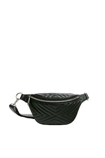 Quilted belt bag