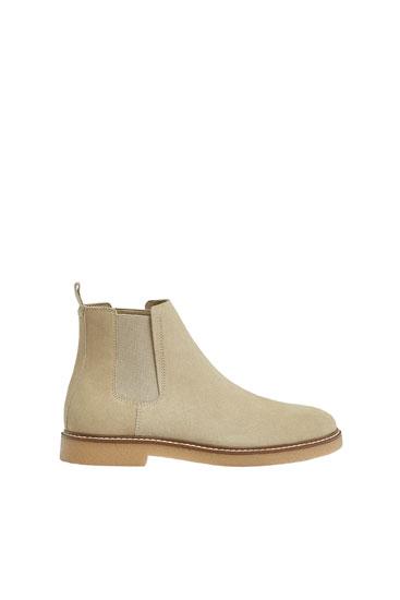 Шкіряні черевики-челсі