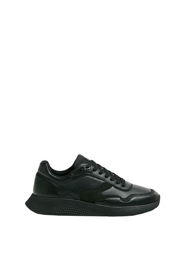 Monochrome urban trainers