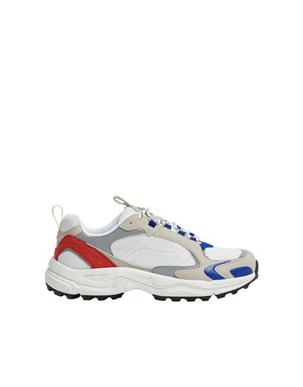 Retró sportcipő