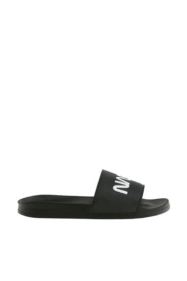 NASA slide sandals