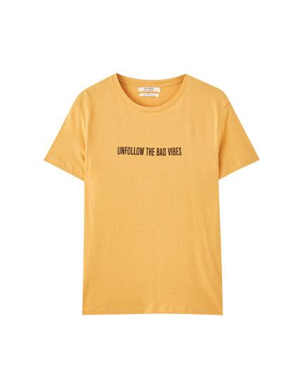 T-shirt manches courtes Unfollow