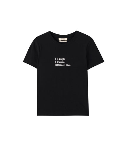 'French Fries' short sleeve T-shirt