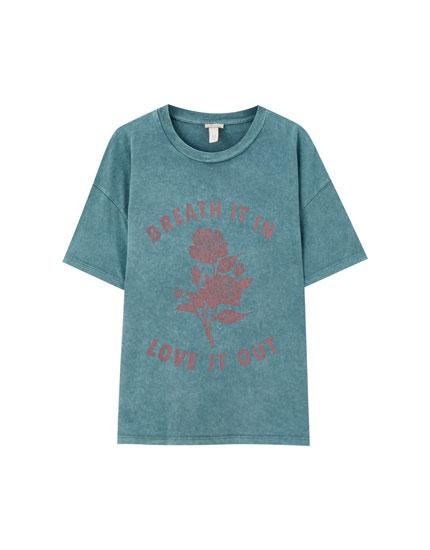 'Breath it in' T-shirt