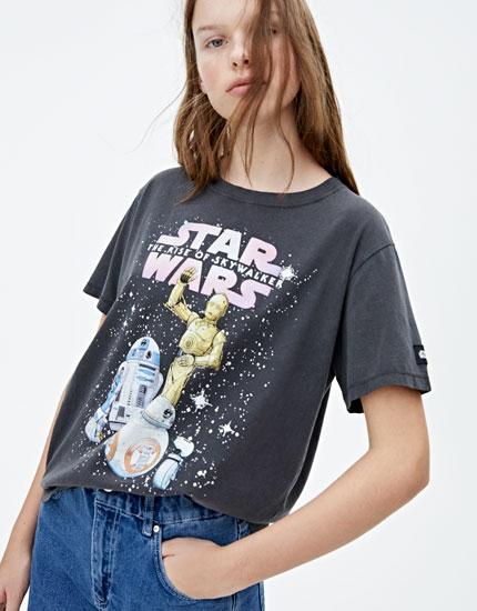 Maglietta STAR WARS Droidi