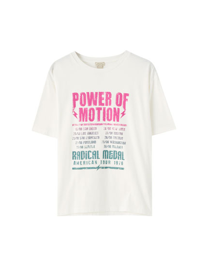 """Power of Motion"" T-shirt"