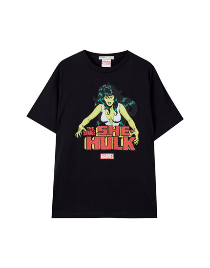 Black She-Hulk T-shirt